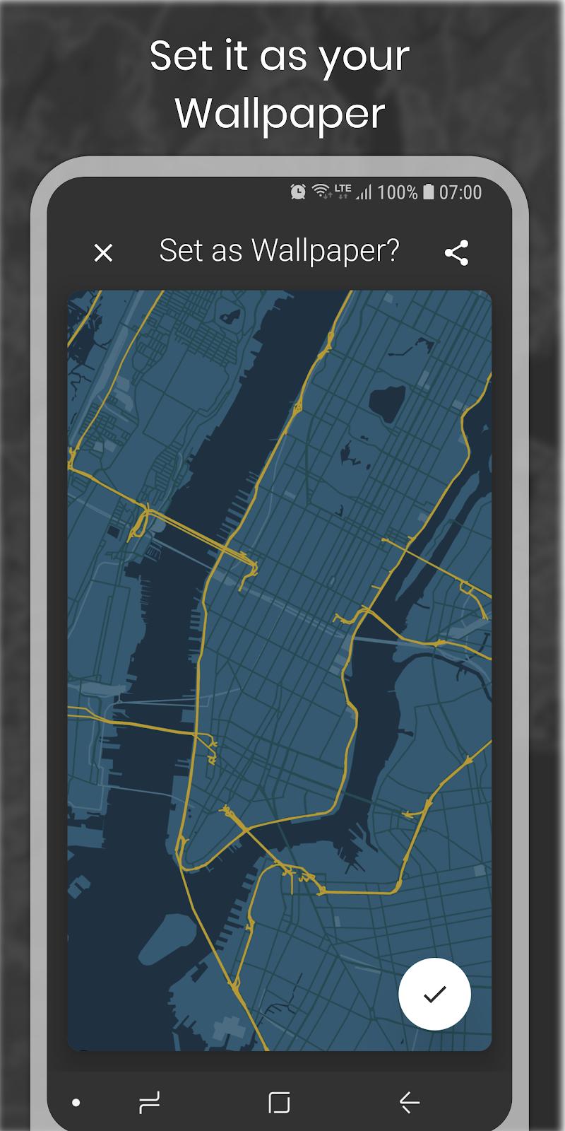 Cartogram - Map Wallpapers & Backgrounds Screenshot 5