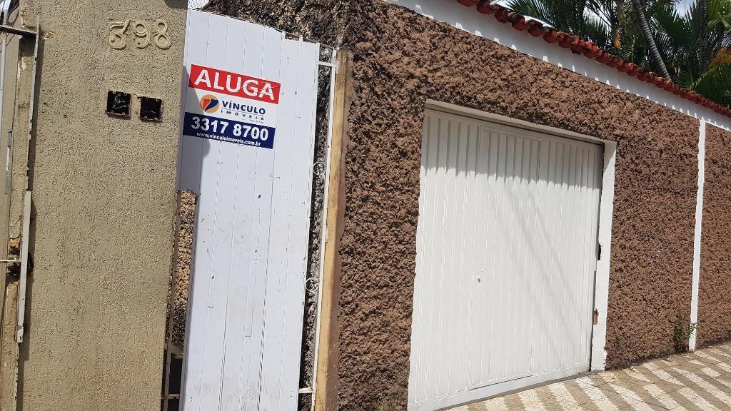 Casa com 2 dormitórios para alugar, 51 m² por R$ 600/mês - Santa Maria - Uberaba/MG