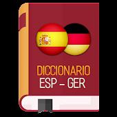 Diccionario Español Aleman APK for Bluestacks