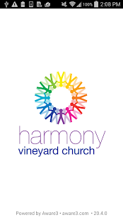 Harmony Vineyard Church - screenshot