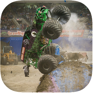 Monster Truck Racing 3D For PC