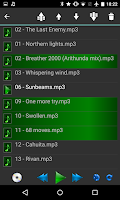 Screenshot of Samba Network Music Player