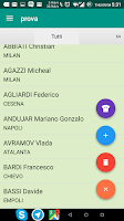 Screenshot of myFantacalcio