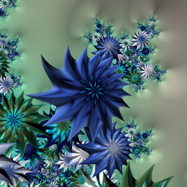 Flowers 10 by Cassy 67 - Illustration Abstract & Patterns ( abstract art, wallpaper, digital art, harmony, flowers, fractal, digital, fractals, flower )