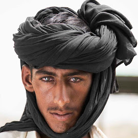 CAMEL MAN by Tahsin Shah - People Portraits of Men ( outdoor, male, people, boy, man, portrait )