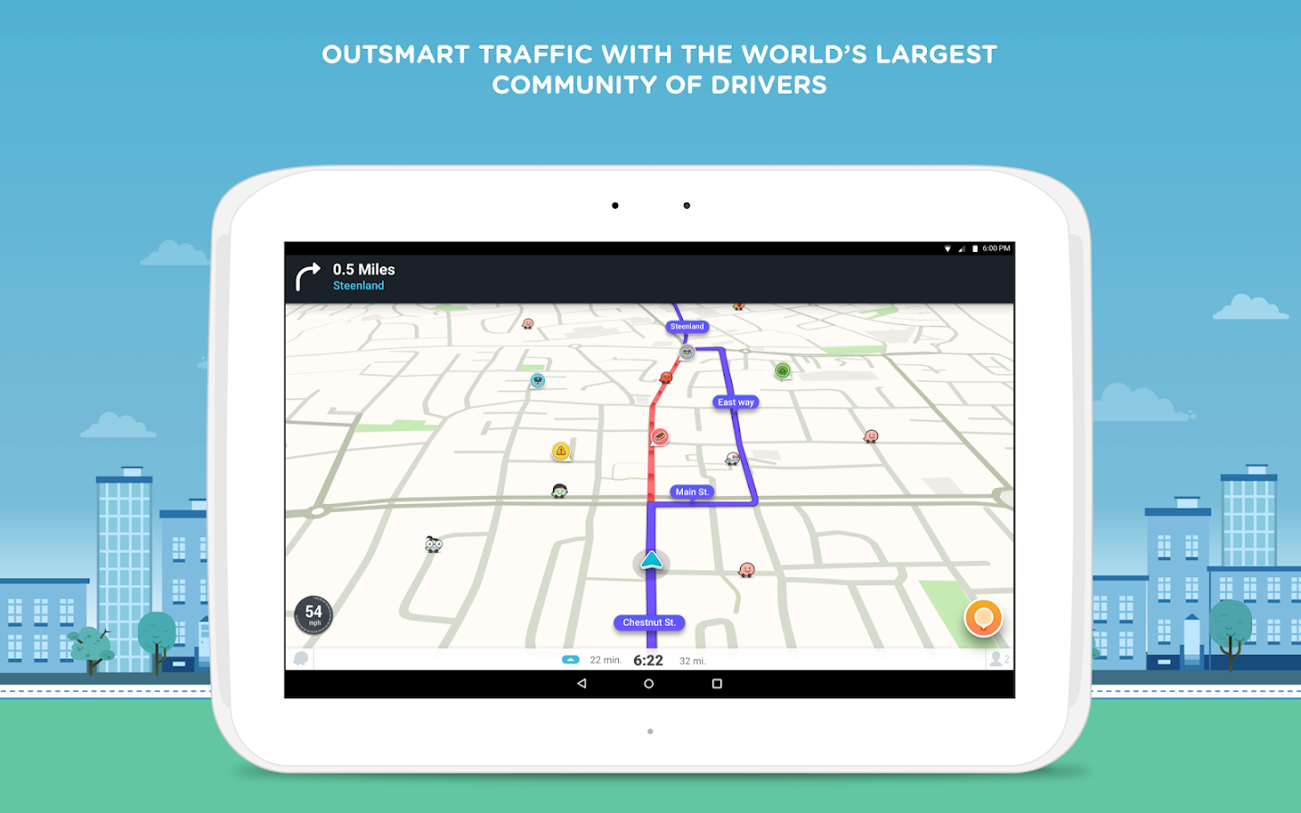 Waze - GPS, Maps & Traffic Screenshot 5