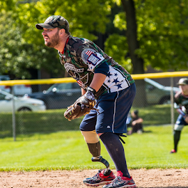 Ready by Michael Stefanich Jr. - Sports & Fitness Other Sports ( #athlete, #tourney, #softball, #secondbase, #mikestefanichjr, #veteran, #player )