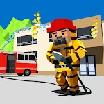 NY City Firefighter Station Craft & Simulation Icon