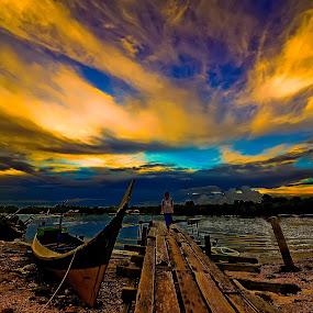 Kampong Batu Putih in Sandakan by Armie YS Yusop Teppo - Landscapes Sunsets & Sunrises