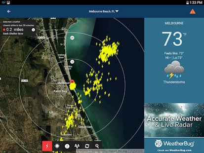 WeatherBug – Forecast & Radar- screenshot thumbnail