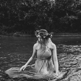 Alyssa by Sarah Douglas - Black & White Portraits & People