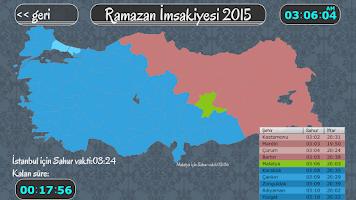 Screenshot of Mobil İmsakiye 2015