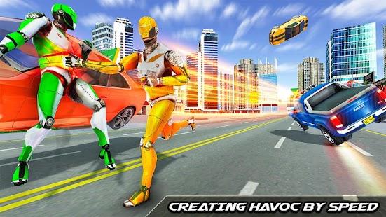 Speed Robot Game – Miami Crime City Battle