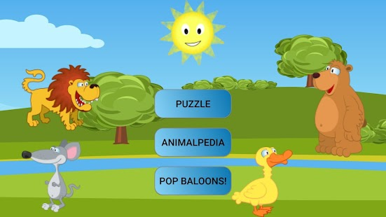 Animals Puzzle Play and Learn Screenshot