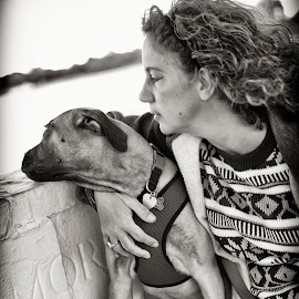 Rocky and Carleen by Greg Bracco - Animals - Dogs Portraits ( breed, bullmastiff, dogs, greg bracco, pet, pets, bullmastiffs, akc, dog, purebread, greg bracco photography )