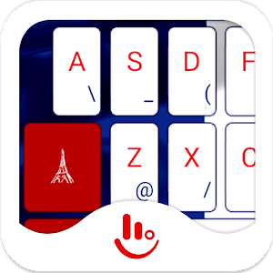 TouchPal France Keyboard Theme