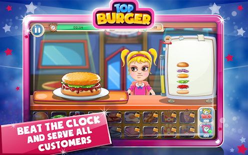 Top Burger Chef: Cooking Story- screenshot thumbnail