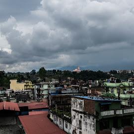 Jorpati, Nepal by Kim Mesorten - City,  Street & Park  Neighborhoods ( village, nepal )