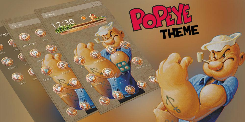 Launcher-Design Popeye android apps download