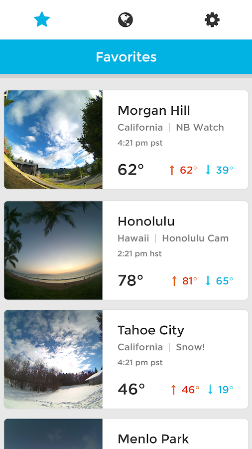 BloomSky Weather Screenshot 3