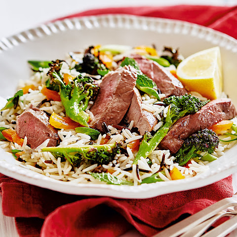 Lamb, Wild Rice And Apricot Salad
