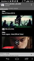 Screenshot of VIVA MUSIC SHARE