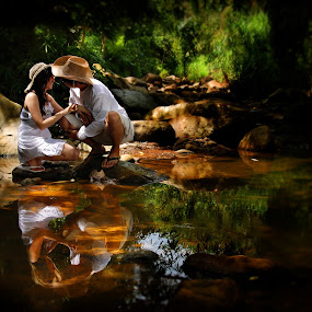 Reflection  by Eight Espino - People Couples