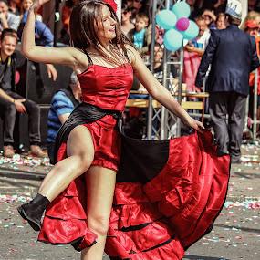 Dance by Dragan Nikolić - City,  Street & Park  Street Scenes