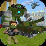 Block Soldier War Games Icon