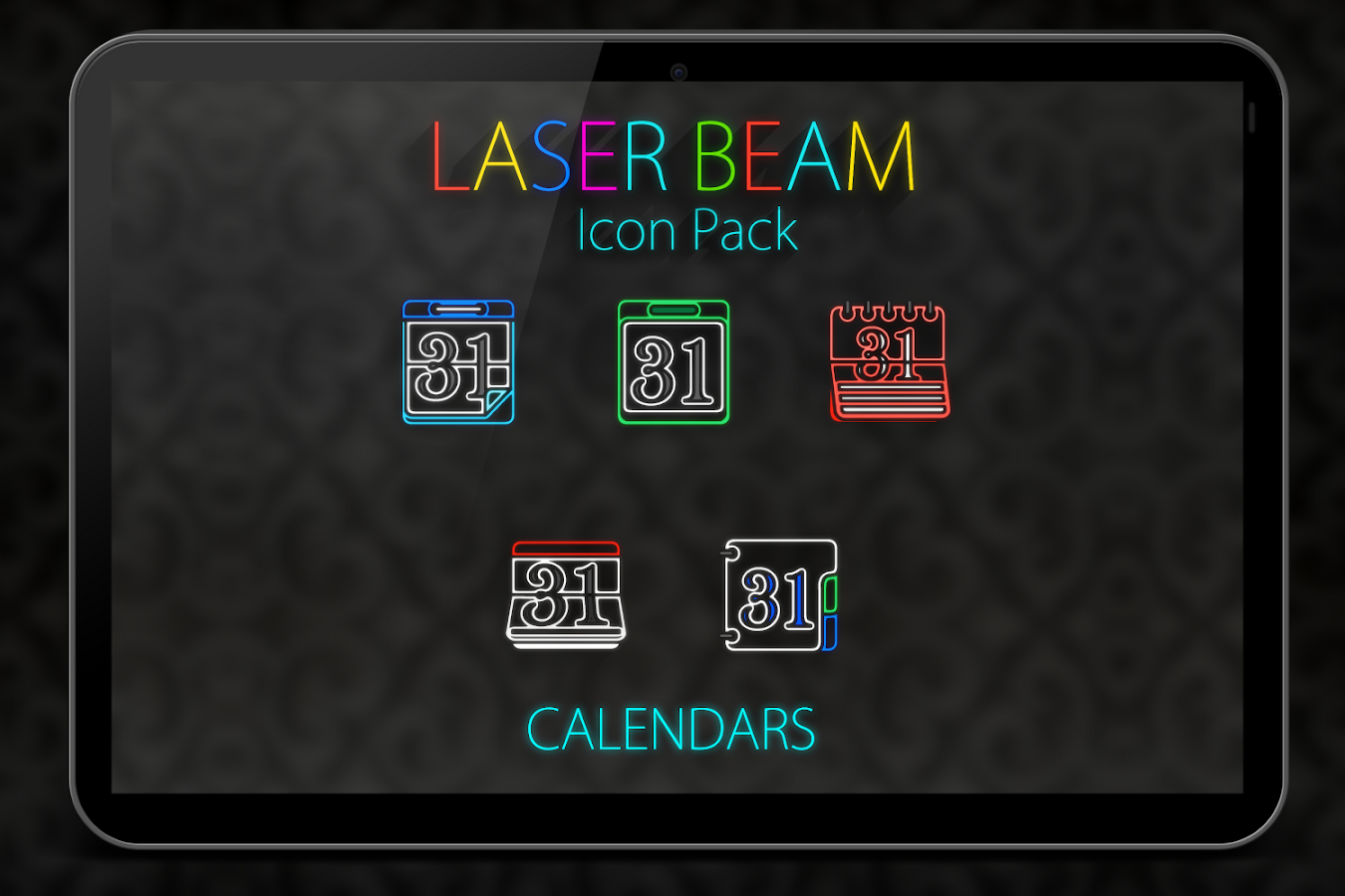 Laser Beam Icon Pack Screenshot 11