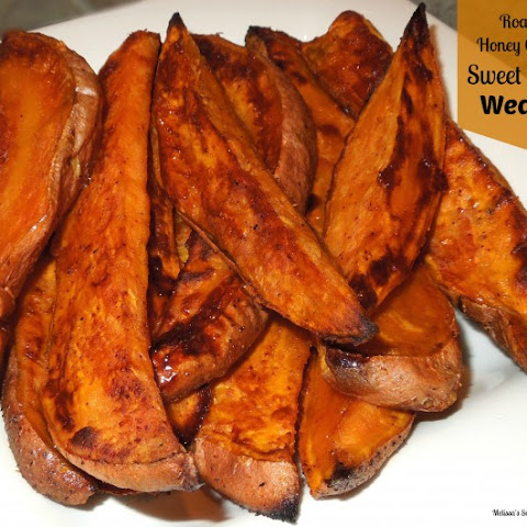 Roasted Honey-Chipotle Sweet Potato Wedges
