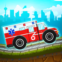 Kid Racing Ambulance - Medics! For PC (Windows And Mac)