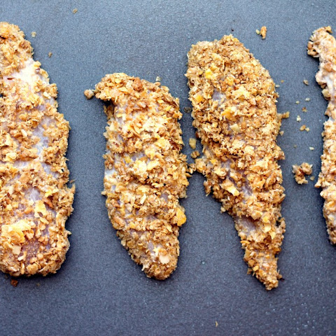 Baked Honey Cornflake Chicken