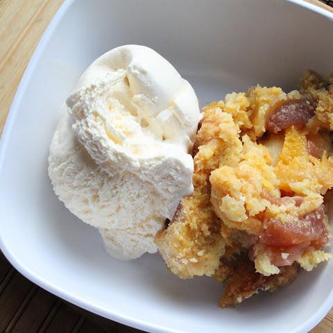 Yellow Cake Mix Apples Sour Cream