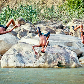 Summer Dive by Satyam Joshi - Babies & Children Children Candids