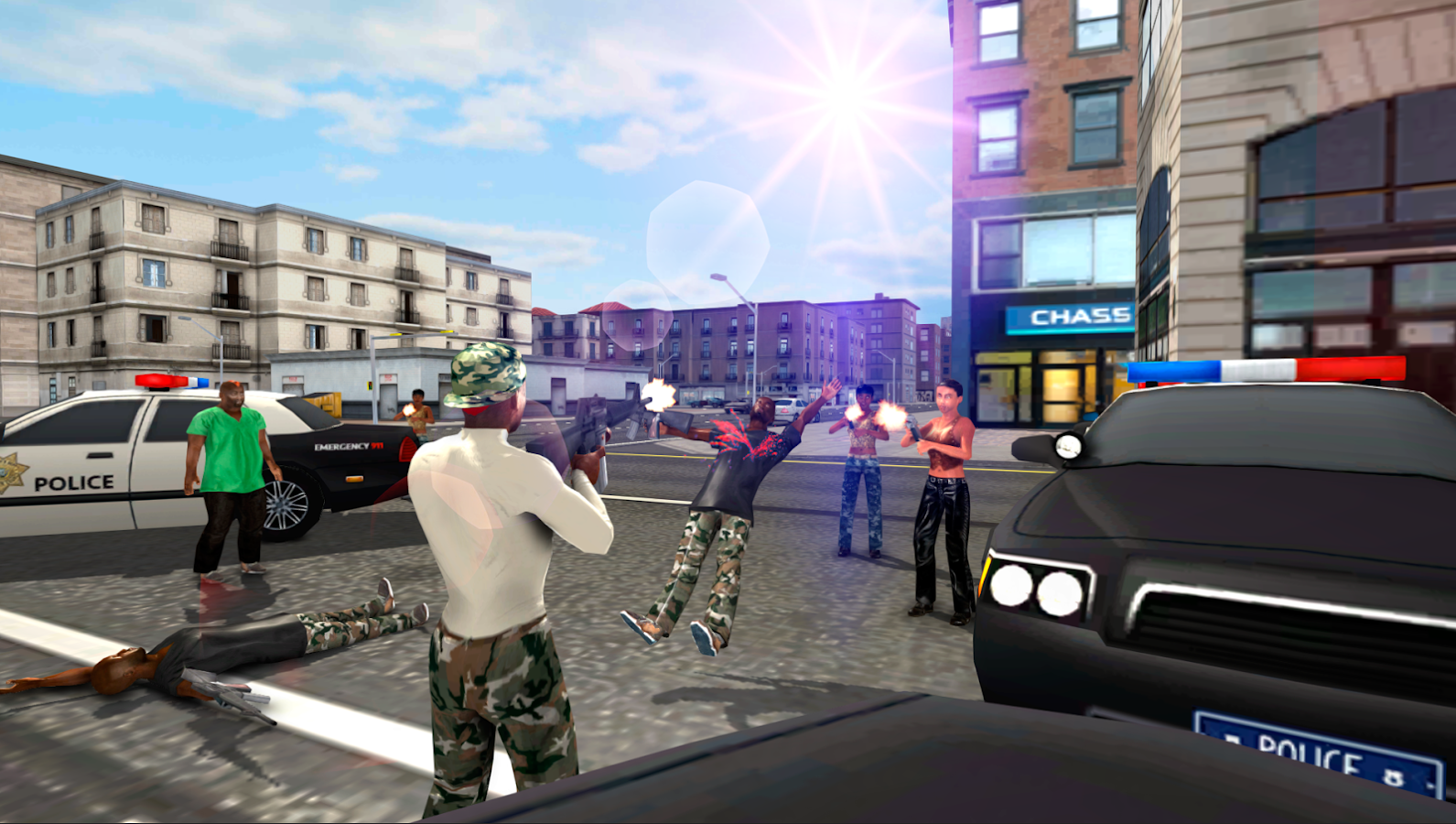 Gangster Crime Wars Screenshot 0