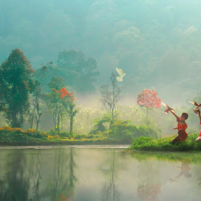 Human...nature and the water balance  by Achepot Chepot - Digital Art People