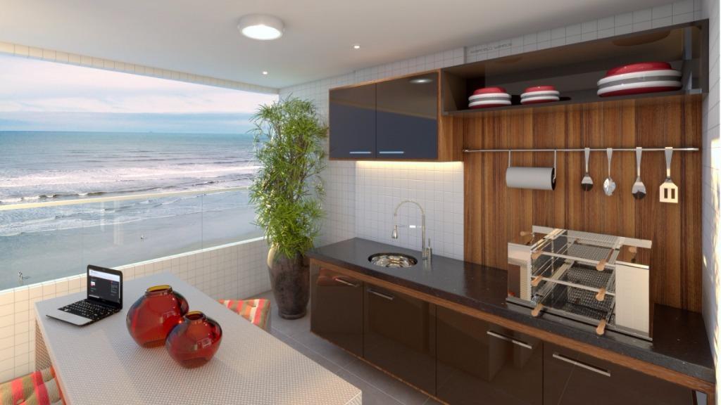 Apartamento de 2 dormitórios em Balneário Flórida, Praia Grande - SP