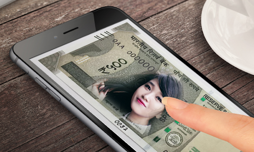 New Currency NOTE Photo Frame APK for Bluestacks