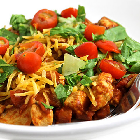 Skinny, Easy, Chicken Enchilada Skillet
