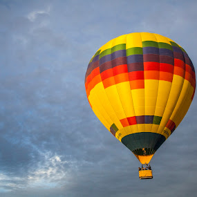 Up up away... by Darci Amundson - Transportation Other ( hot air balloon, sky, fly, arizona, phoenix, relax, tranquil, relaxing, tranquility )