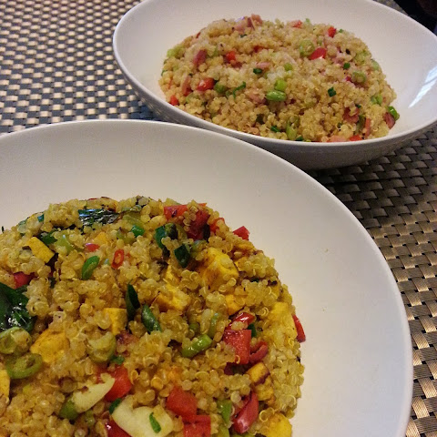 Quinoa Fried 'Rice' 2 Ways!