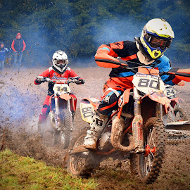 Flying Start by Marco Bertamé - Sports & Fitness Motorsports ( mud, bike, motocross, clumps, race, competition )