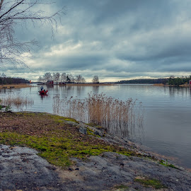 by Bojan Bilas - Landscapes Travel ( urban exploration, seashore, europe, waterscape, scandinavia, beautiful, fine art, finland, travel, seaside, beach, landscape, boat, baltic, rauma, nature, color, suomi )