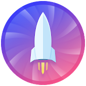 Rocket Clean(boost, clean, CPU cooler, game boost) Icon