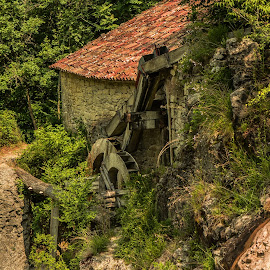 old mill by Eseker RI - Landscapes Mountains & Hills (  )