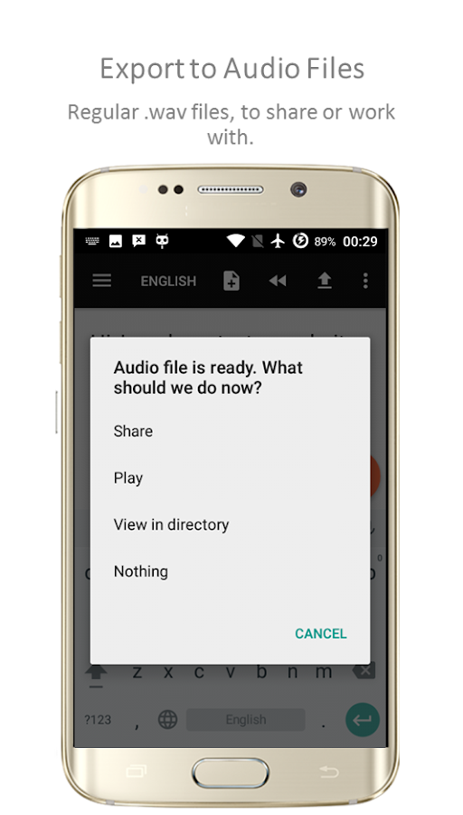 TTSReader Pro - Text To Speech Screenshot 3