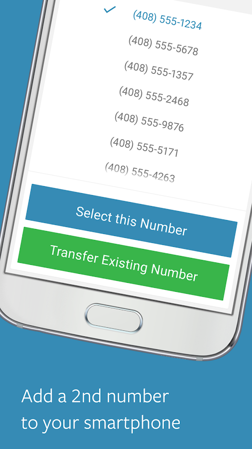 Sideline – 2nd Phone Number Screenshot