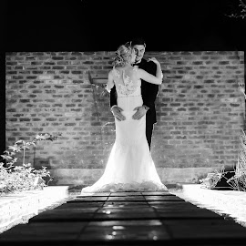 Love is all around us by Junita Fourie-Stroh - Wedding Bride & Groom ( love, fashion, wedding photography, bridal, night photography, wedding day, wedding, south africa, wedding dress, wedding photographer, bride, groom )