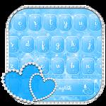 Blue Diamond Heart Keyboard Theme Icon